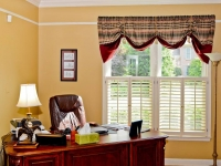 Double Hung Windows with Shutters