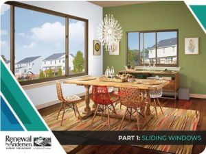 3 Top Window Replacement Options for Modern Homes – Part 1: Sliding Windows